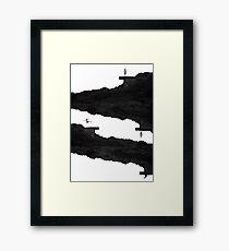 Never-ending Slope Framed Print