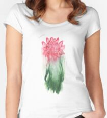 2nd Chrysantemum  Women's Fitted Scoop T-Shirt