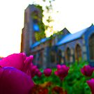 Flowers Outside St Giles II by Ruski