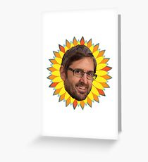 Louis Theroux! Greeting Card