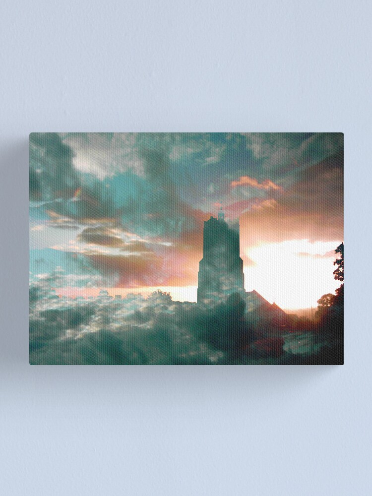 Alternate view of Church in the Sky Canvas Print