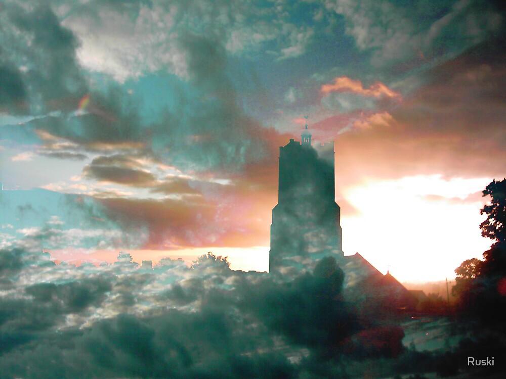 Church in the Sky by Ruski