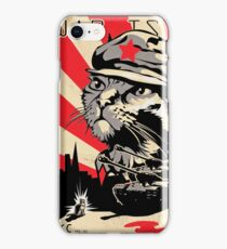 Poster Revolution - War is Now iPhone Case/Skin