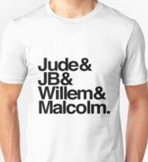 Jude&JB&Willem&Malcolm Unisex T-Shirt