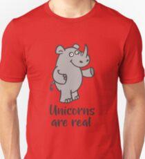 Unicorns are real Unisex T-Shirt
