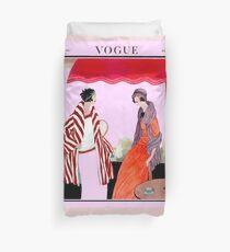 Vogue Vintage 1922 Magazin Werbung Print Bettbezug