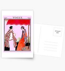 Vogue Vintage 1922 Magazin Werbung Print Postkarten