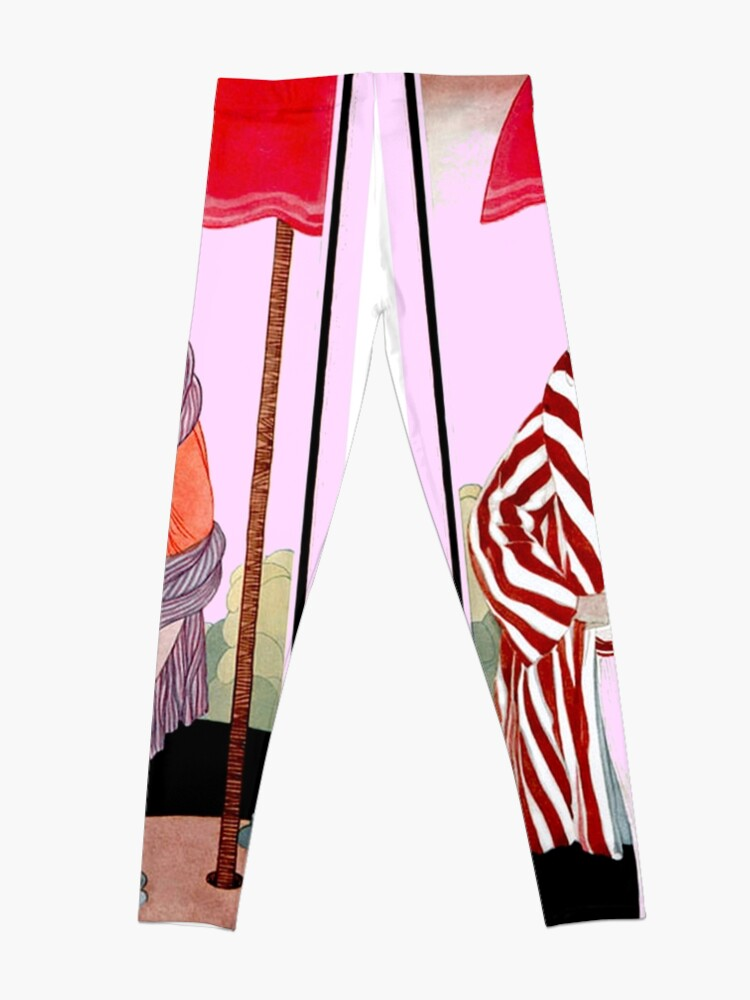 Alternative Ansicht von Vogue Vintage 1922 Magazin Werbung Print Leggings