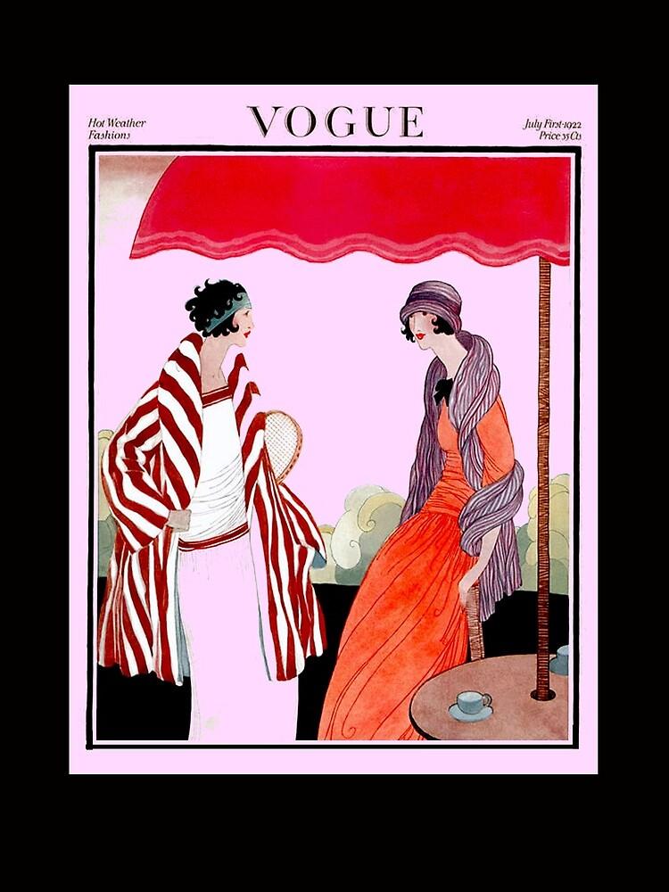 Vogue Vintage 1922 Magazin Werbung Print von posterbobs