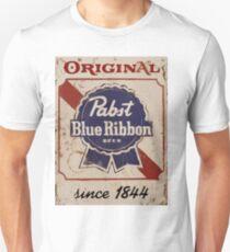 Pabst Blue Ribbon Distressed Logo T-Shirt