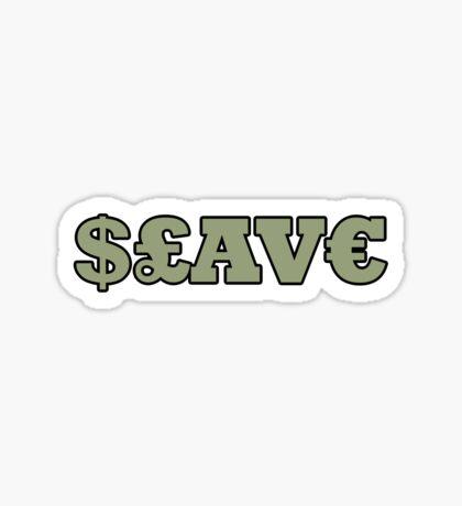 Slave t-shirt Sticker