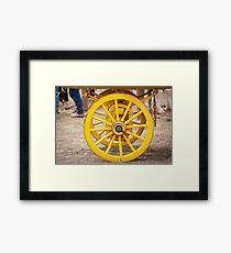 Rolling On Framed Print