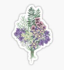 Les fleurs d'Ophélie Sticker
