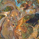 Squirrels and Dogs by SHANNON BUEKER