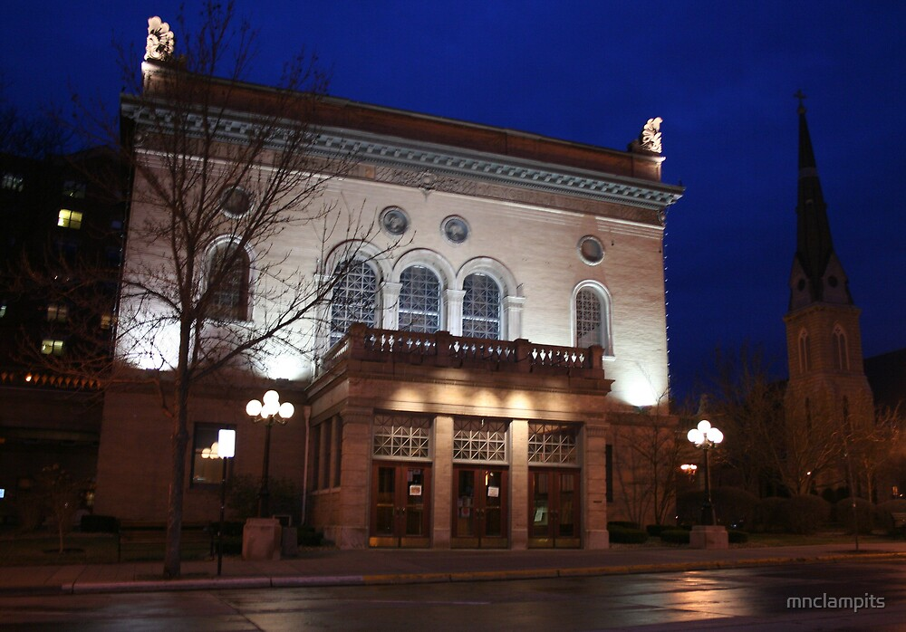 Historic Sheldon Theatre by mnclampits