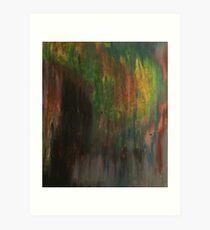 Color Smear Art Print