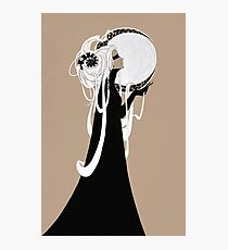 Moon Woman Photographic Print