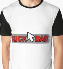 """""""CLICKBAIT"""" - Cursor in the Middle Graphic T-Shirt"""