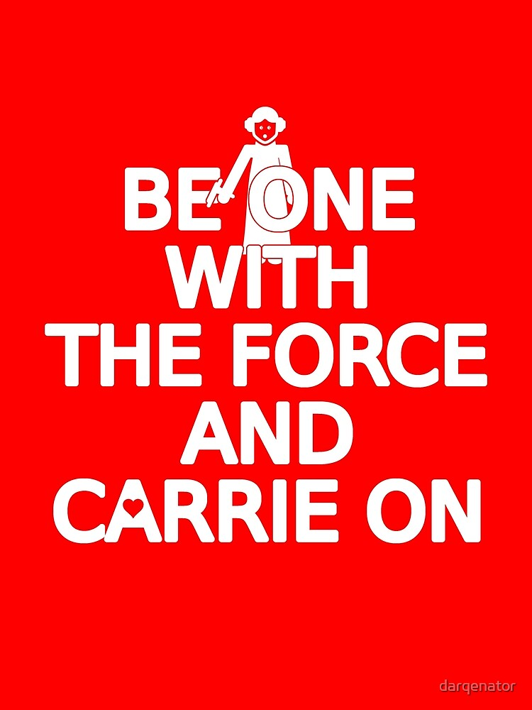 Be on with the force by darqenator