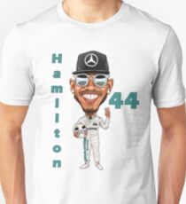 Support Lewis Hamilton at the Races T-Shirt