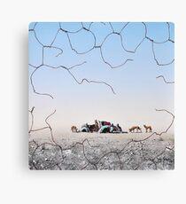 The Dingo Fence Canvas Print