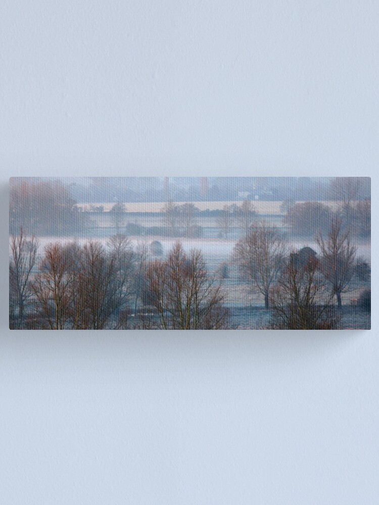 Alternate view of Valley Frost Canvas Print