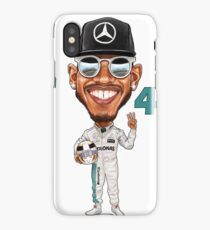 Support Lewis Hamilton at the Races iPhone Case/Skin