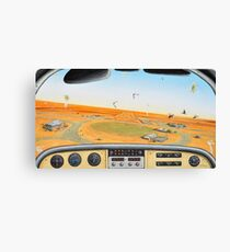 Crowded Airspace, Birdsville Canvas Print