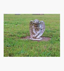 Pouting angel Photographic Print