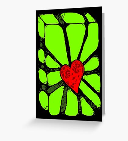 You Shattered Me Greeting Card