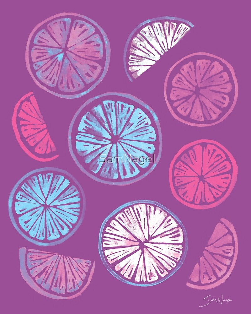 Citrus Wheels - Plum and Berry by SamNagel