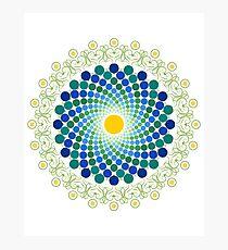 Nature Mandala Photographic Print