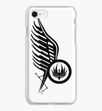 Starbucks Tattoo BSG iPhone Case/Skin