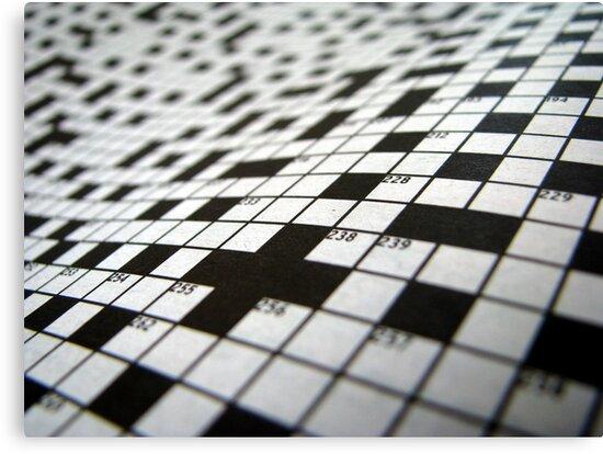 Crossword by Kitsmumma