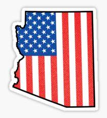 ARIZONA USA AMERICAN FLAG AMERICA VINTAGE GRAND CANYON PHOENIX TUCSON YUMA Sticker