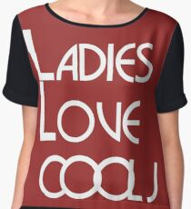 LADIES LOVE COOL J Chiffon Top