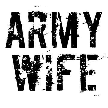 ARMY WIFE by MERCH365