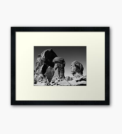 Valley Of Fire 1 Framed Print