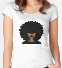 Black Queen Women's Fitted Scoop T-Shirt