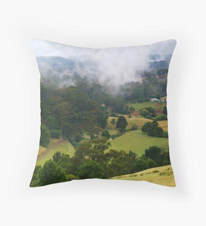 Otway Farmlands, Forrest  Throw Pillow