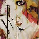 Pages Abstract Portrait by Galen Valle