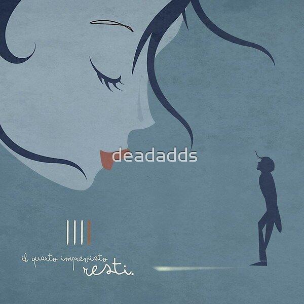 Il Quarto Imprevisto – Resti - rock, pop, alternative rock from Italy - cd artwork by deadadds