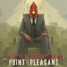 Brock Berrigan ‎– Point Pleasant - Vinyl LP artwork - Triphop jazzy hiphop from the Netherlands by deadadds