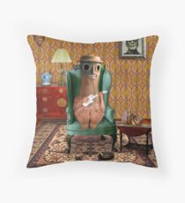 Nouveau Riche Throw Pillow