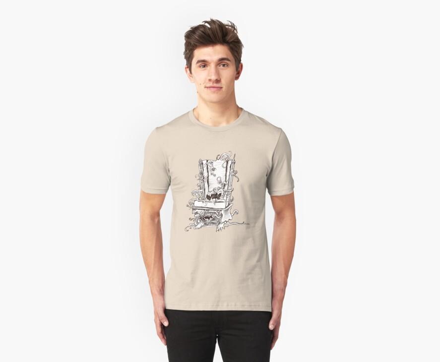 Evil Chair Shirt by MaKayla Songer