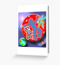 Boys Cookery Greeting Card