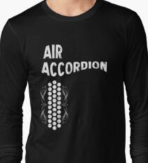 Air Cool Accordion Design. Retro Music Classical Instrument Distressed Graphic T-Shirt