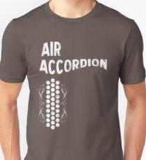 Air Cool Accordion Design. Retro Music Classical Instrument Distressed Graphic T-Shirt