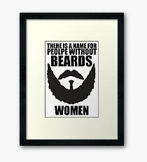 Beards Framed Print