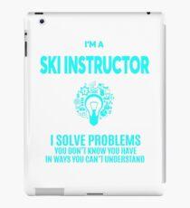 SKI INSTRUCTOR BEST DESIGN 2017 iPad Case/Skin